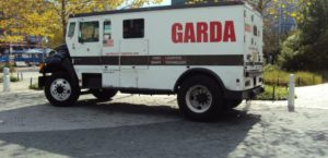 Garda Cash Logistics Van — at Baltimore Inner Harbor