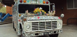 Glimmermen's Tour Bus — at American Visionary Art Museum